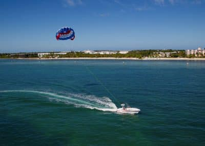 parasailing key west sunset watersports