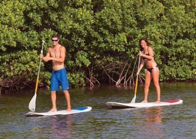 smathers beach key west paddleboarding