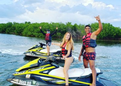 key west spring break jetski tours