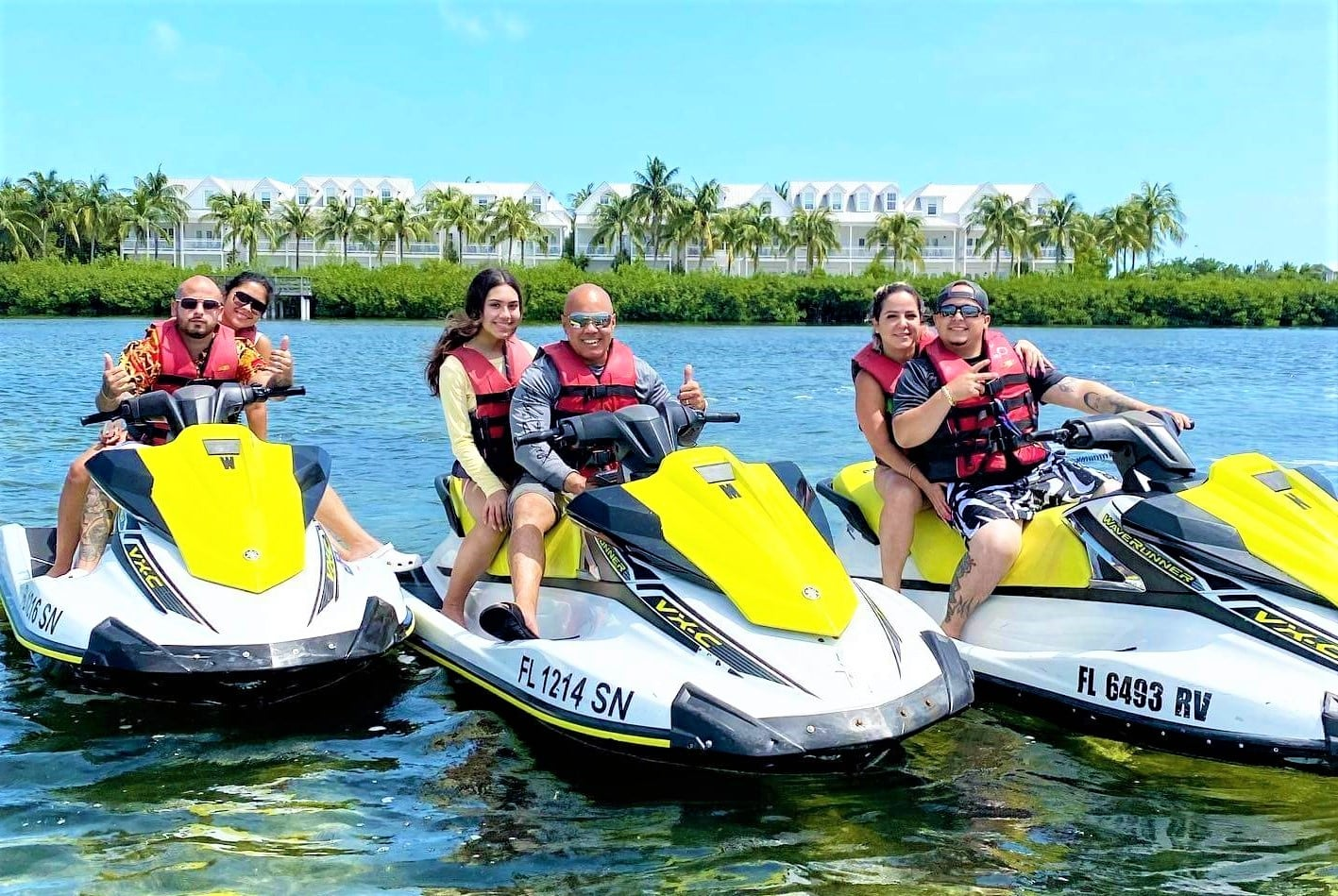 jetski tours and rentals in key west